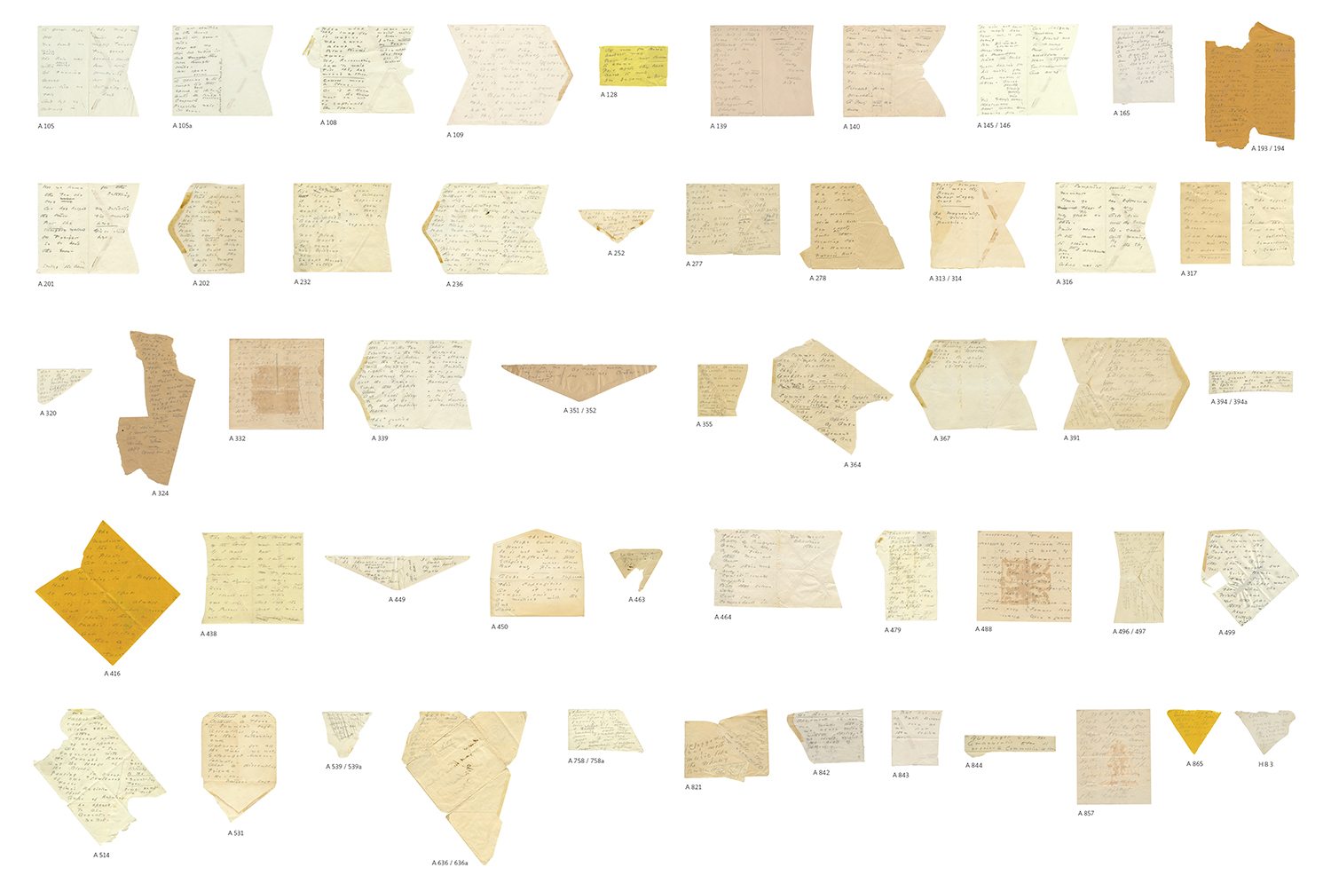 Emily Dickinson Envelope Poems Ivorypress